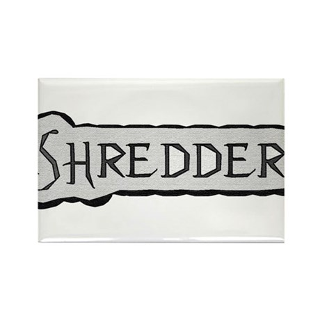 Snow Board Rectangle Magnet (100 pack)