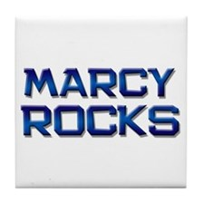 marcy rocks Tile Coaster