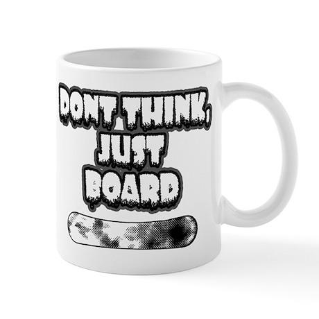 Snow board Mug