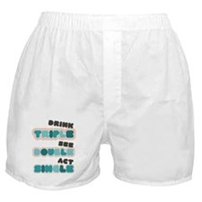 Funny Bachelor Party Drinking Boxer Shorts