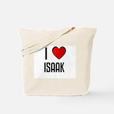 I LOVE ISAAK Tote Bag