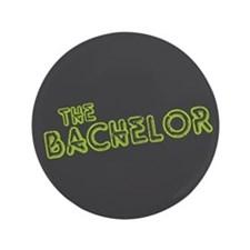 "Green ""The Bachelor&quot 3.5"" Button"