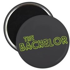 """Green """"The Bachelor&quot 2.25"""" Magnet (10 pac"""
