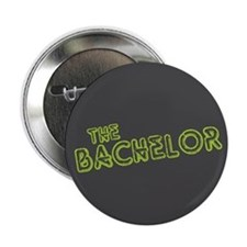 """Green """"The Bachelor&quot 2.25"""" Button"""