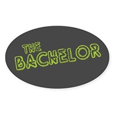 "Green ""The Bachelor&quot Oval Decal"