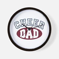 Cheer Dad Wall Clock