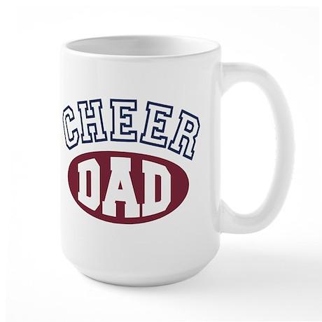 Cheer Dad Large Mug