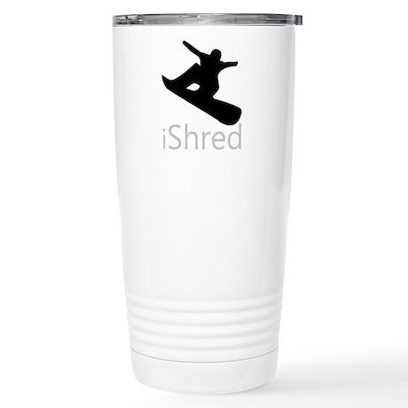 Snow Board Stainless Steel Travel Mug
