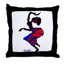 Haitian Throw Pillow