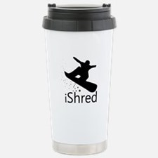 Snow board Stainless Steel Travel Mug