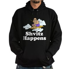Shvitz Happens Hoodie (dark)