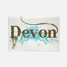 Devon England Rectangle Magnet