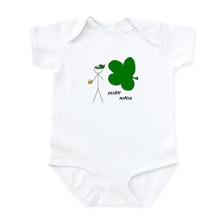 Irish Ninja Infant Bodysuit