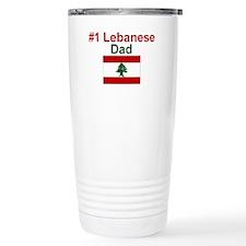 #1 Lebanese Dad Travel Mug