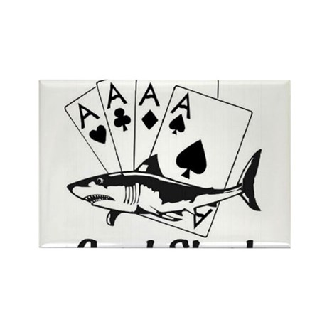 Card Sharks Rectangle Magnet (10 pack)