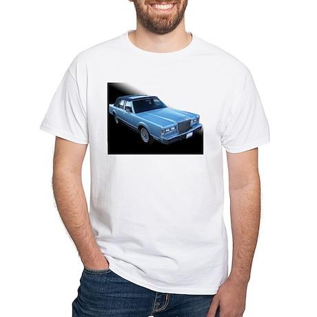 Lincoln TownCar White T-Shirt