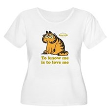 To Know Me Is To Love Me Women's Plus Size Scoop N