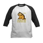 To Know Me Is To Love Me Kids Baseball Jersey
