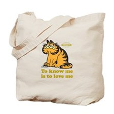 To Know Me Is To Love Me Tote Bag