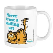 Smiling Cat Small Mug