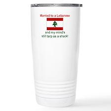 Married To A Lebanese Travel Mug