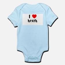 I LOVE HEATH Infant Creeper