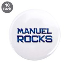 "manuel rocks 3.5"" Button (10 pack)"