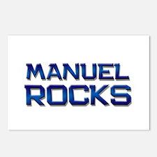 manuel rocks Postcards (Package of 8)
