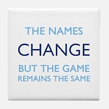 No Change Tile Coaster