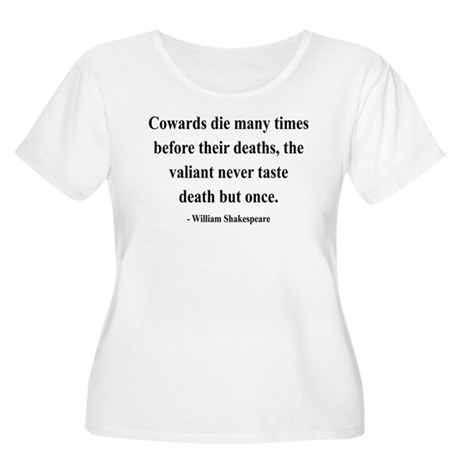 Shakespeare 18 Women's Plus Size Scoop Neck T-Shir