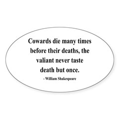Shakespeare 18 Oval Decal