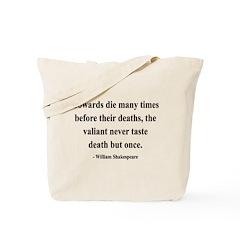 Shakespeare 18 Tote Bag