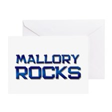 mallory rocks Greeting Card