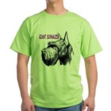 Giant schnauzer Green T-Shirt