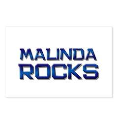 malinda rocks Postcards (Package of 8)