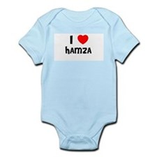 I LOVE HAMZA Infant Creeper