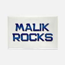 malik rocks Rectangle Magnet