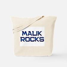malik rocks Tote Bag