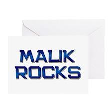 malik rocks Greeting Card