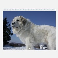 Great Pyrenees Wall Calendar