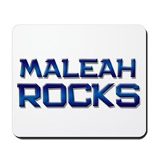 maleah rocks Mousepad