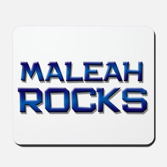 maleah rocks Mousepad