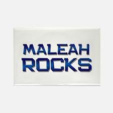 maleah rocks Rectangle Magnet
