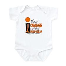 I Wear Orange For My Nephew 9 KC Infant Bodysuit