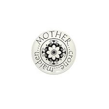 MOTHER Circle Mini Button