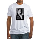 Arthur Schopenhauer Truth Fitted T-Shirt
