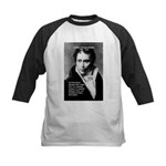 Arthur Schopenhauer Truth Kids Baseball Jersey