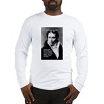 Arthur Schopenhauer Truth Long Sleeve T-Shirt