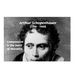 Arthur Schopenhauer Truth Postcards (Package of 8)