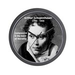 Arthur Schopenhauer Truth Wall Clock